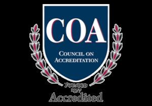 council of accreditation logo