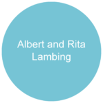 Albert and Rita Lambing Blue circle sponsor logo 01
