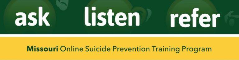 Ask Listen Refer website