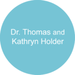 Dr. Thomas and Kathryn Holder Blue circle sponsorship