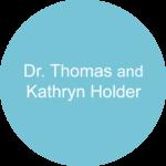 Dr. Thomas and Kathryn Holder Blue circle sponsorship