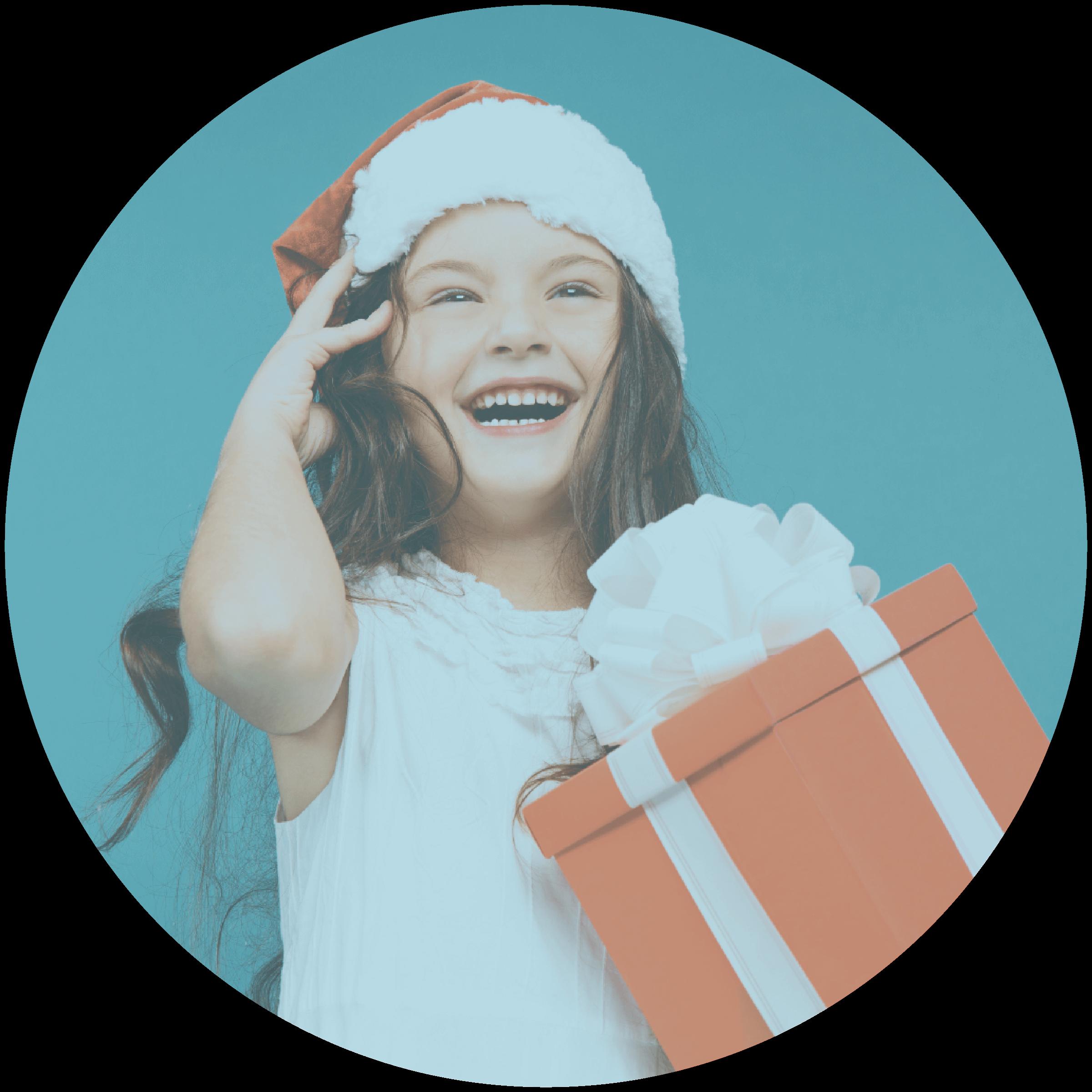 Give Joy Holiday Circle Photo 01