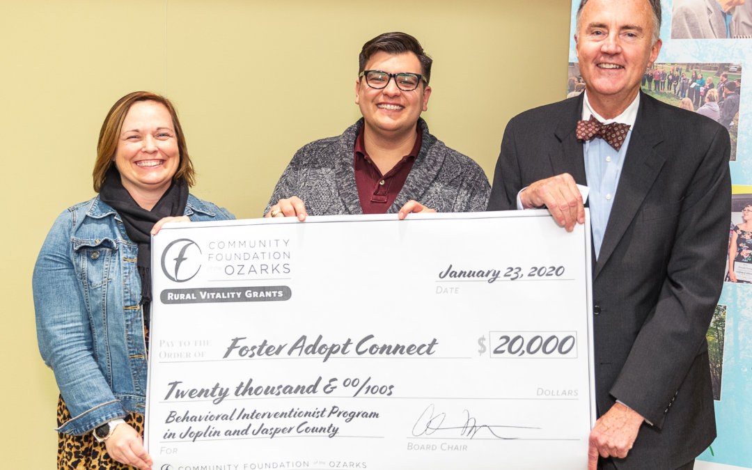 FosterAdopt Connect receives $20K grant for program in Jasper County