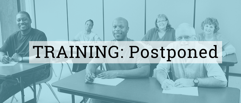 Foster Parent Trainings: Postponed
