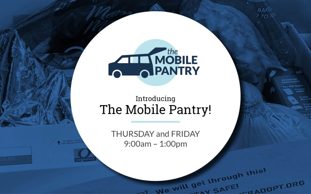 The Mobile Pantry to offer contactless food for families in need
